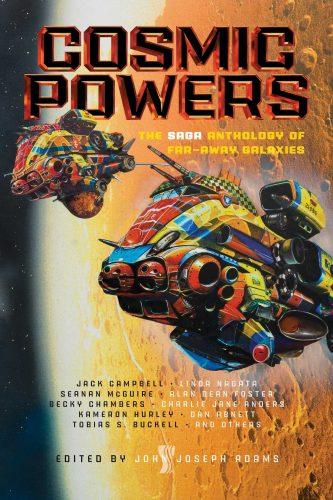 Cosmic Powers book cover.