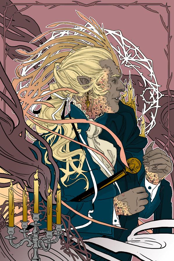 Strange Horizons - The Skinwalkers Ball By Hammond Diehl, Art by